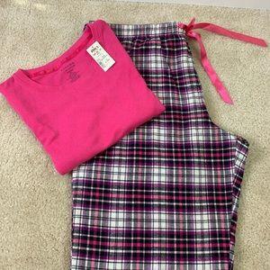Two piece pajamas set